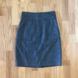 Halogen Grey Skirt
